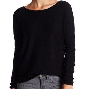 SUSINA Boatneck High/Low Tunic Sweater